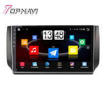 "Free Shipping 10.1"" Quad Core Android 4.4 Car PC Stereo GPS For NISSAN New Sylphy 2012 With Audio Radio Multimedia Without DVD"