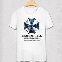 우산 레지던트 이블 영화 느슨한 인쇄 남성 남성 t 셔츠 tshirt 패션 새로운 짧은 소매 o 넥 티셔츠 멋진 티 뜨거운 판매