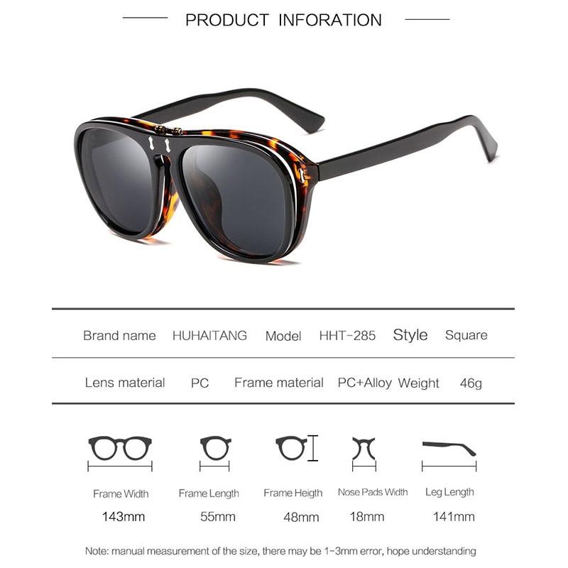Google Sunglasses Women Men Double Lens Sun Glasses Can Be Clamshell Glasses Brand Sunglasses Women Sunglass Oculos De Sol Gafas