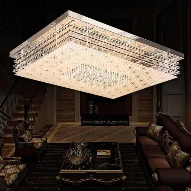 US $165.0 |Einfache moderne led deckenleuchte hause rechteckige lampe  schlafzimmer lampe wohnzimmer lichter SJ8 moring ya74 in Einfache moderne  ...