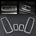 4Pcs New Triple Chrome Interior Window Switch Trims Cover For Jeep Grand Cherokee Chrysler 300 Dodge journey 2011 2012 2013 2014