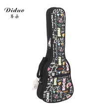 Stylish, cool music ukulele with a 21-inch, 23-inch, 26-inch, 26-inch guitar pack with a cotton back uukulele bag