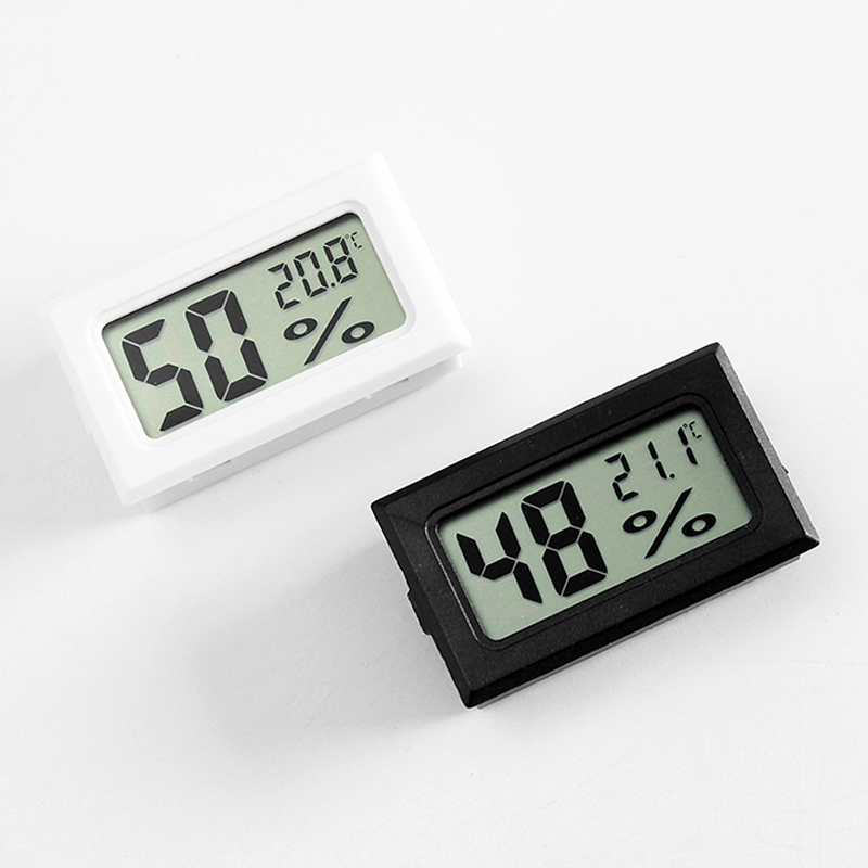 Digital LCD Thermometer Hygrometer For Pet Ant Farm Ant Nest Anthill Workshop Tools Reptiles Turtle Box Insect Box Accessories
