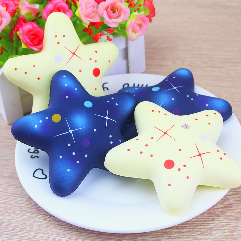 Cute Star Scented Squishy Slow Rising Squeeze Anti stress Soft Toys Funny Gadgets Squishies Gift for Children