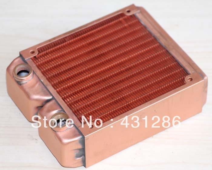 Ke Ruiwo G1 / 4 Ke Ruiwo pure copper thicken 120 water-cooled heat exchanger , thicken RadiatorKe Ruiwo G1 / 4 Ke Ruiwo pure copper thicken 120 water-cooled heat exchanger , thicken Radiator