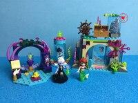 Nueva genunie 249 unids Niñas princesa submarino mágico hechizo juego 41145 edificio Blocs ladrillos educativos divertidos Juguetes DIY regalos