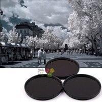39mm 680nm+760nm+950nm Infrared IR Optical Grade Filter for Canon Nikon Fuji Pentax Sony Camera Lenses