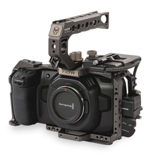 Tilta BMPCC 4K 6K Cage TA-T01-B-G Tactical finished or Gray Full Cage SSD Drive Holder Top Handle for BlackMagic BMPCC 4K 6K