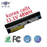 HSW 11.1V 48WH 6cells laptop battery for Lenovo IdeaPad S100 S10 3 S205 S110 U160 S100c S205s U165 L09S6Y14 L09M6Y14 bateria akk