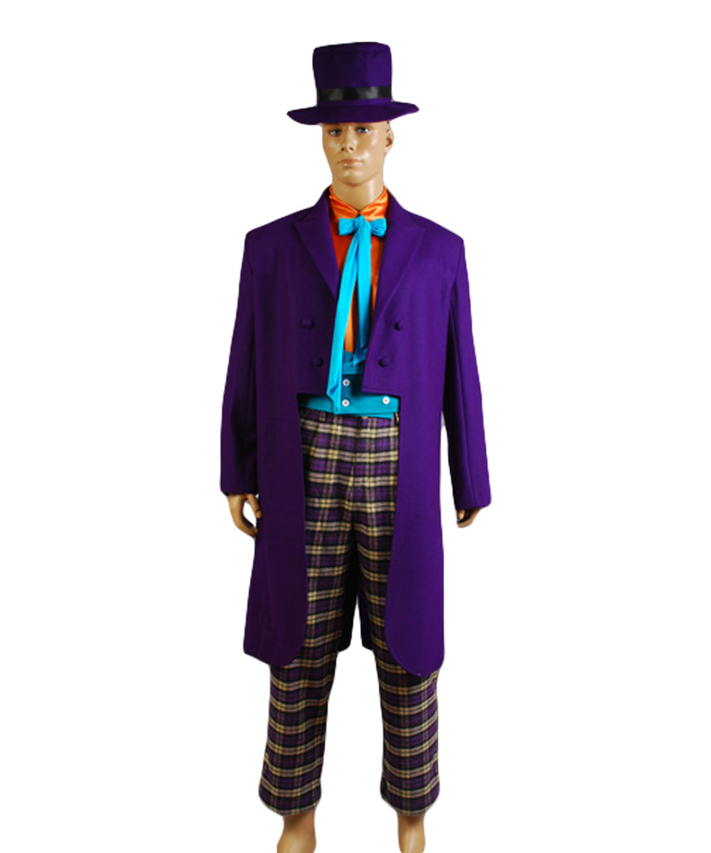 Cosplay Costume Batman Joker Jack Nicholson Outfits Costume Full Sets Halloween Party Costume
