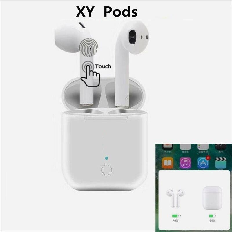 Nouvelle i10 Tws Plus Moins Cher XY Gousses 1:1 Air Pod Double bluetooth sans fil Casque Tactile écouteurs avec micro pour tous les téléphones pk i12