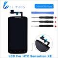 LL TRADER Highscreen AAA Черный Замена ЖК-Дисплей Для HTC Sensation XE G18 Z715E ЖК-ДИСПЛЕЙ С Сенсорным Экраном Дигитайзер Ассамблеи + Инструменты