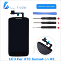 LL TRADER Highscreen AAA Black Replacement LCD Display For HTC Sensation XE G18 Z715E LCD Touch Screen Digitizer Assembly +Tools