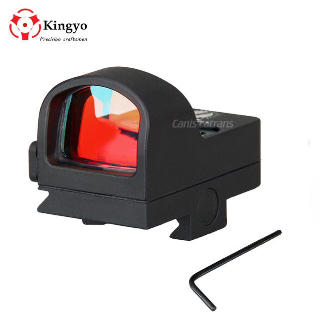 Hot Sell Tactical 2MOA 1X Waterproof Mini Red dot Scope Sight Hunting Scope For Real Hunting
