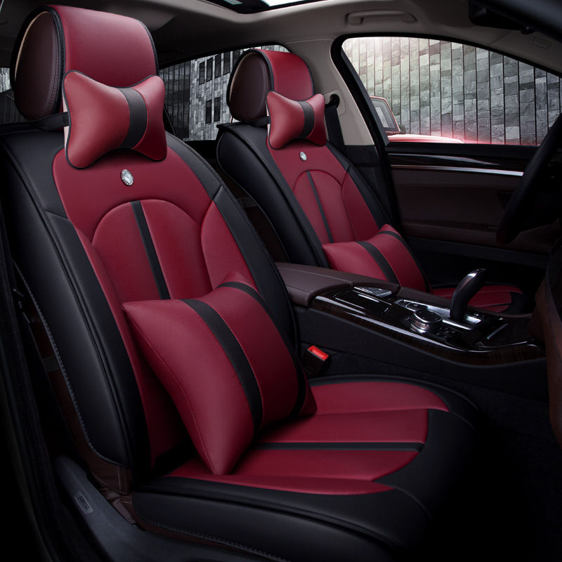 5d styling sport car seat cover general cushion car pad auto seat cushions for peugeot 206 207. Black Bedroom Furniture Sets. Home Design Ideas