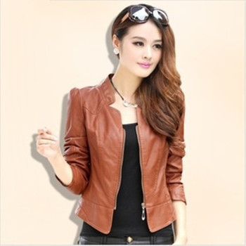 2018 Women's leather jacket for women excellent quality