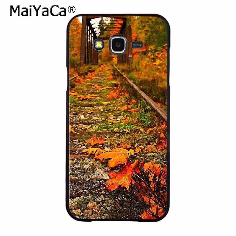 MaiYaCa Fashionable railway train Luxury High-end phone Accessories Case for Samsung 2015 J1 J5 J7 2016 J1 J3 J5 J7 Note3 4 5