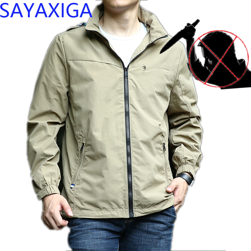 Humorous Self Defense Tactical Gear Stealth Anti Cut Jacket Knife Cut Resistant Anti Stab Proof Clothing Cutfree Stabfreesecurity Clothes High Standard In Quality And Hygiene Back To Search Resultsmen's Clothing Jackets & Coats