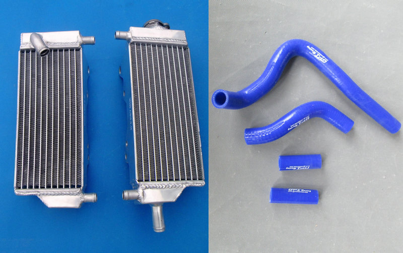 L&R High Performance Aluminum Radiator & Silicone Hose For HONDA 1992 1996 CR250R CR250 CR 250 R 92 93 94 95 96-in Hoses & Clamps from Automobiles & Motorcycles    1