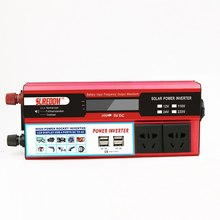 Car Inverters 1500W Modified Sine Wave  DC12V/DC24V-AC220V/ AC110V Universal Power Inverter Charger Converter Adapter