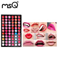 MSQ Professional Women Sexy Makeup My Lip Tint Pack Palette Lip Gloss, Polychromatic Lip Tint 66 Colors