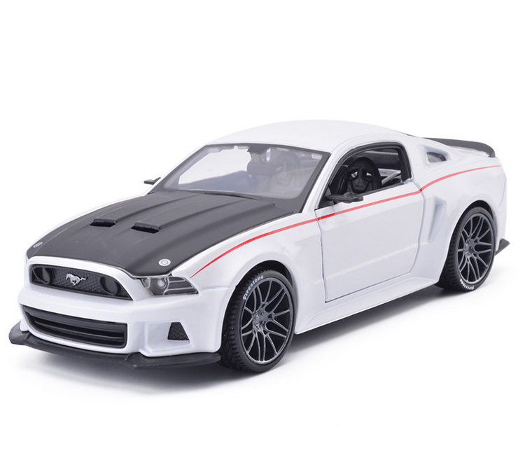 maisto 124 original alloy car models ford mustang gt children toy car metals models