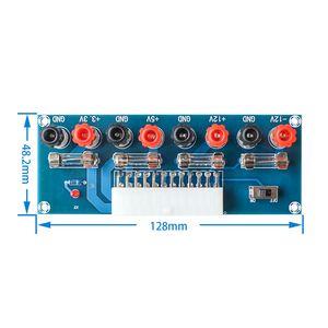 Image 1 - XH M229 obudowa komputera stacjonarnego zasilacz ATX płyta transferowa zasilanie zdejmij moduł wyjściowy wyjścia mocy