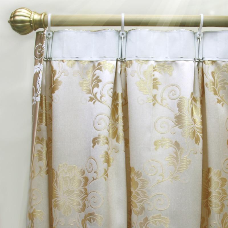 30PCS /Lot Colorful Movable Plastic Curtain Rod Clips Window ...