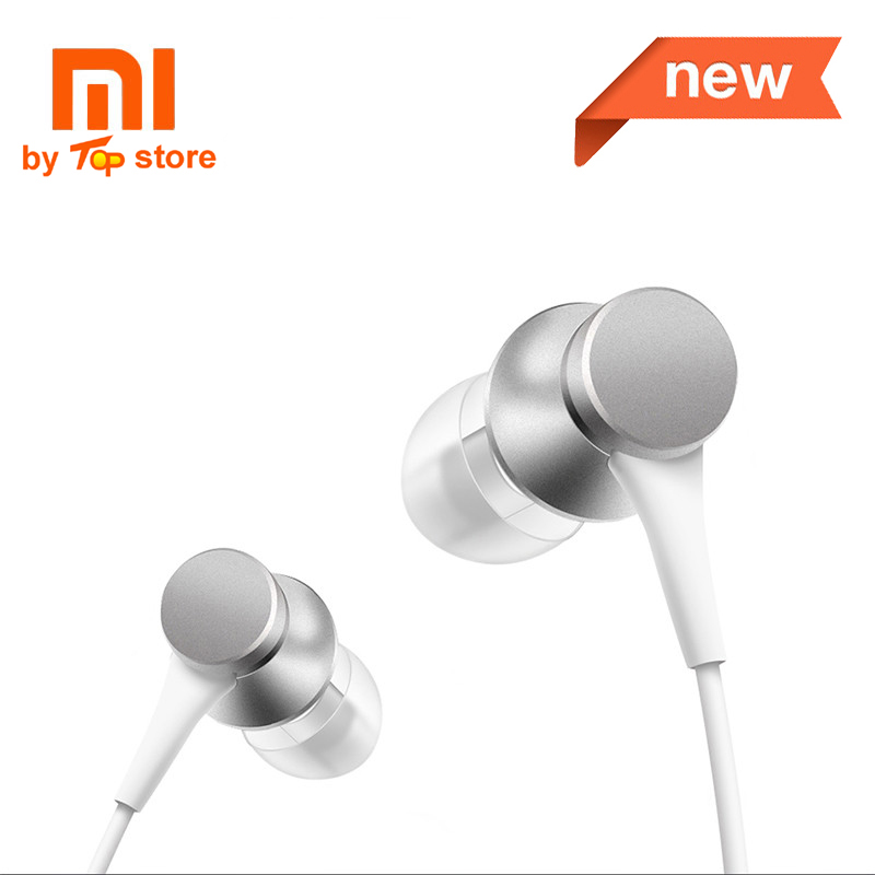 Original Xiaomi Xiomi Youth Version In-ear piston 3 Earphone with Mic Wire Control MI headset for mobile phone fone de ouvido original xiaomi xiomi mi hybrid earphone 1more design in ear multi unit piston headset hifi for smart mobile phone fon de ouvido