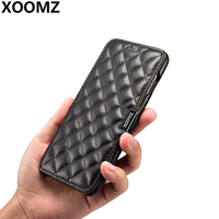 XOOMZ For IPhone 7 Plus Case Luxury Cute Soft Genuine Leather Shockproof Armor Wallet Girls Phone