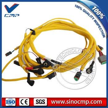 PC300-6 Ekskavatör motor kablo demeti Komatsu