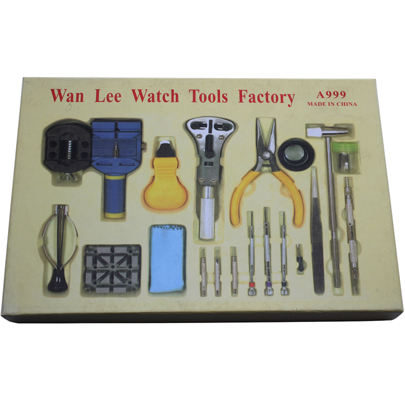 2016 Hot sale high quality practical table tool 18 sets repair kit watch set hours down the lower bottle opener belt 2016 hot sale high quality practical table tool 18 sets repair kit watch set hours down the lower bottle opener belt