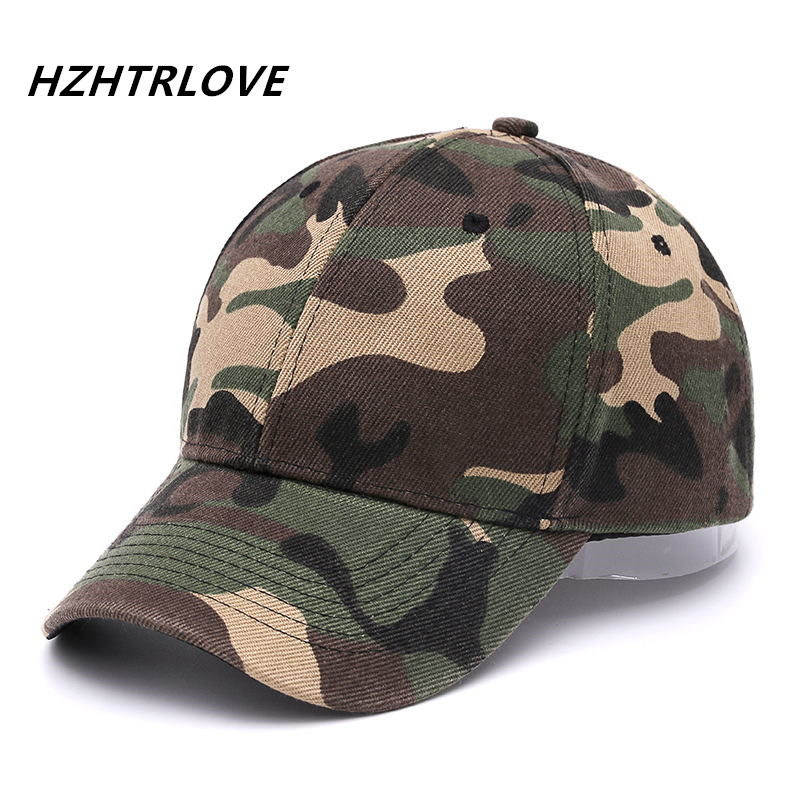 High Quality Army Camo Baseball Cap Casquette Camouflage Snapback Hats For Men  Camouflage Cap Women Blank Desert Hip Hop Dad Hat 00e4f27274a