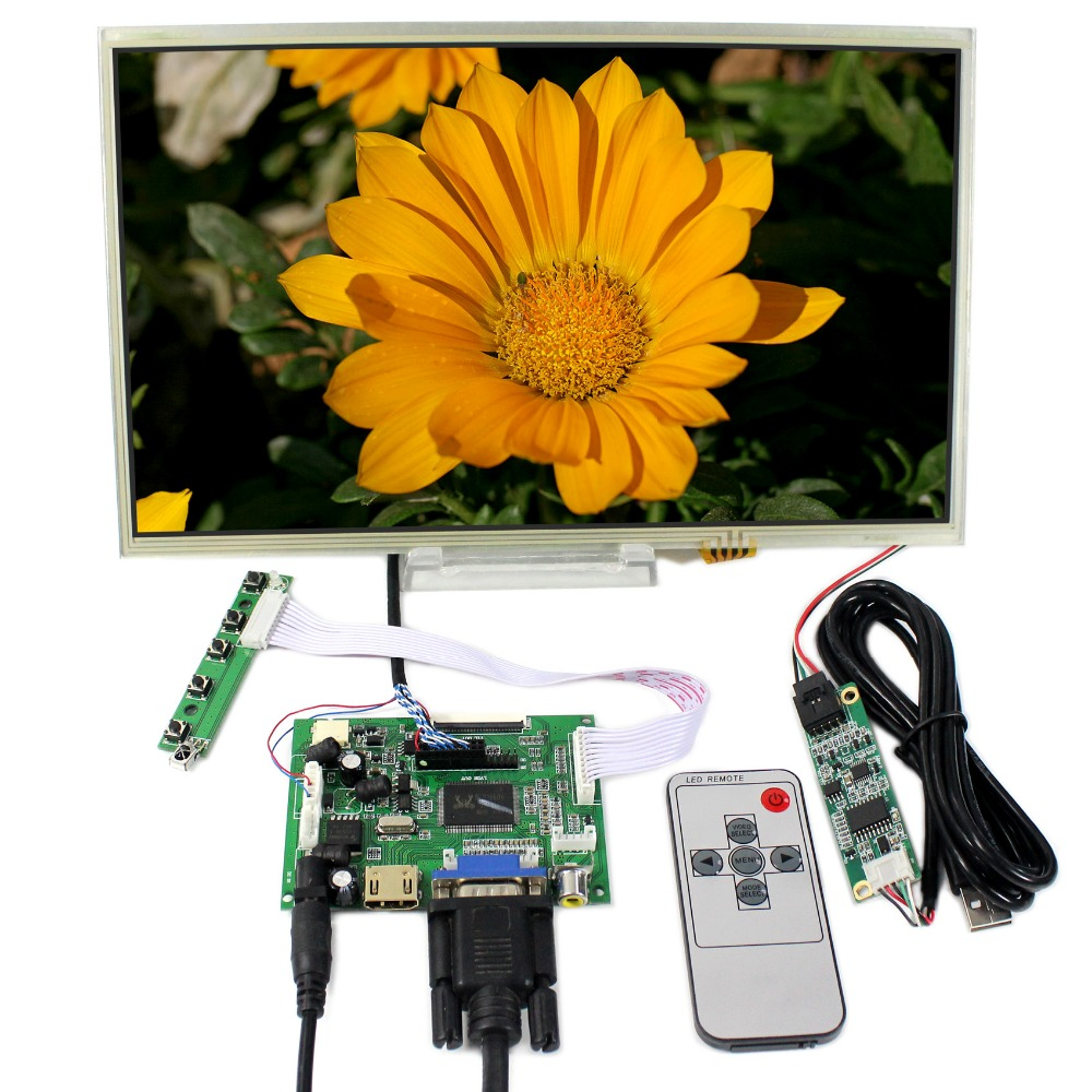 HDMI VGA 2AV LCD Controller Board+12.1 1366x768 HSD121PHW1 Touch LCD Screen hdmi vga 2av audio lcd controller board for 15 6inch 1366x768 ltn156at17 b156xw02 lcd screen