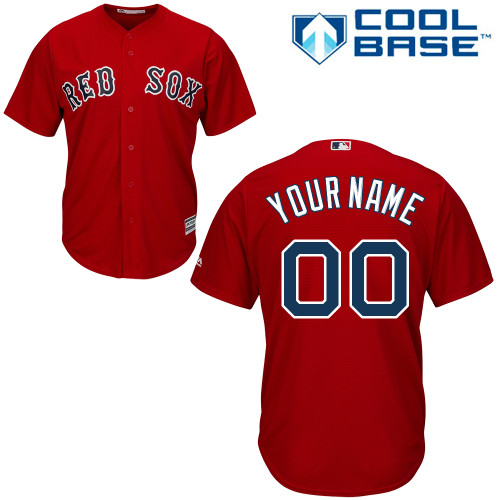 the best attitude 80244 dd3e0 Youth/Kids Boston Red Sox Custom jersey authentic Cool Base ...