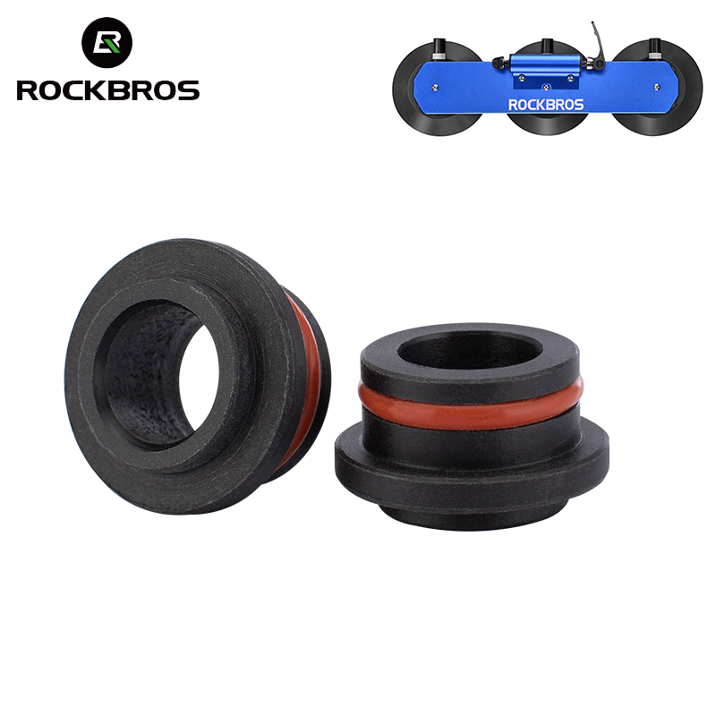 ROCKBROS Car Rack Hub Adapters for Bicycle Roof-Top Car Rack Hub Convertors Bike Carrier Quick Installation 9mm 12mm 15mm 20mm(China)