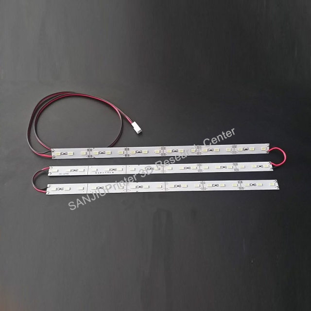 Ultimaker 2 Um2 Extended LED Light Strip 3D Printer Aluminum Material Led Light Parts 24V.