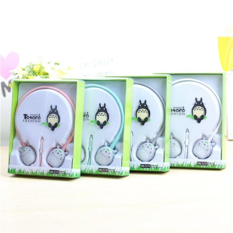 Lovely Cute Candy Colour 3.5mm Stereo Headphone My Neighbor