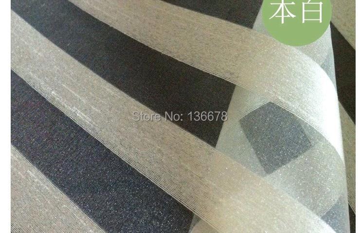 150cm 59inch wide 10yard lot ivory stripe soft organza sheer fabric fashion wedding fabric for blouse