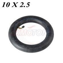 Внутренняя трубка 10x2,5 с изогнутым клапаном подходит для газовых электрических скутеров E-bike 10x2,5
