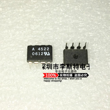 Send free 10PCS A4522 HCPL4522 HCPL-4522  DIP-8   New original hot selling electronic integrated circuits