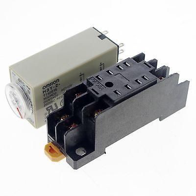 5 Pieces H3Y-2 Max 10s 110VAC Power On Time Delay Relay Solid-State Timer DPDT 5 pieces h3y 2 power on time delay relay solid state timer max 30m 220vac dpdt