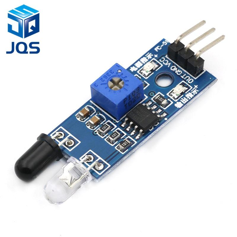 Smart Electronics New For Arduino Diy Smart Car Robot Reflective Photoelectric 3pin IR Infrared Obstacle Avoidance Sensor Module