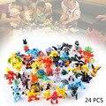 24PCS Wholesale Lots Cute Pokemon Mini Random Pearl Figures New Hot Kids Toy