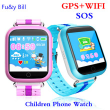New GPS Watch Q750 WIFI 1.54 touch screen kids early learning Smart baby watch Anti-dropped alarm SOS Call Tracker pedometer