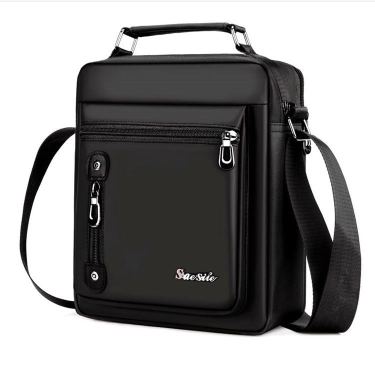 Brand Men's Handbag Messenger Bag Waterproof Men Oxford Zipper Bag Crossbody For Male Male Business Casual Single Shoulder Bag