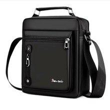 Brand Men's Handbag Messenger Bag Waterproof Men