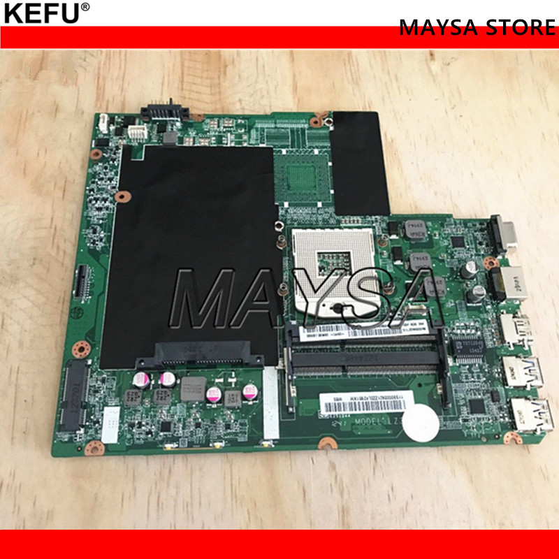 Wholesale Laptop motherboard FOR Lenovo Ideapad Z580 DA0LZ3MB6G0 11S90000921 HM76 PGA989 DDR3 Fully tested quality 48 4pa01 021 lz57 for lenovo ideapad b570 b570e laptop motherboard 11013537 lz57 hm65 pga989 ddr3 410m 1gb fully tested
