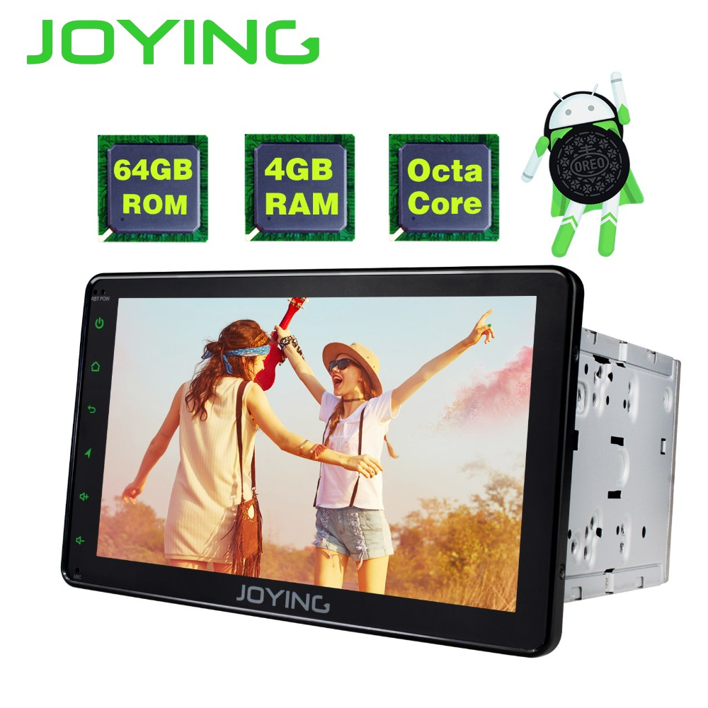 8 JOYING Double 2 Din 4GB +64GB Universal Android Car Radio Stereo Audio Head Unit Gps Navi Player Tape Recorder With Video Out