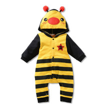 Baby Girl Rompers Cartoon Animal Baby Costumes For Girls Cute Boby Jumpsuit Baby Boy Clothes Spring Autumn Baby Girl Rompers